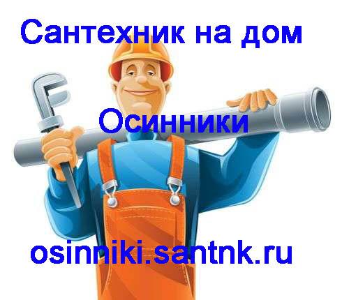 Сантехник Осинники
